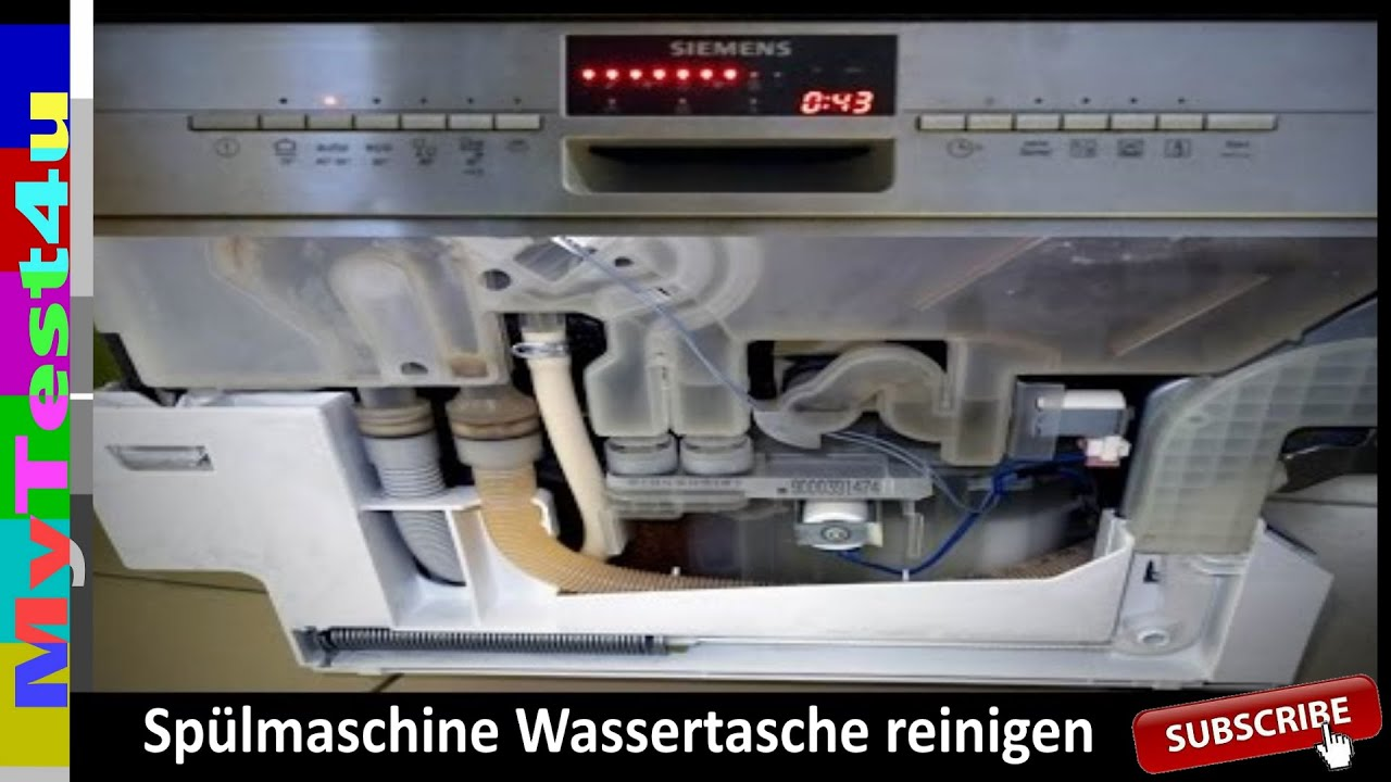 howto sp lmschine w rmetauscher wassertasche reinigung einbau youtube. Black Bedroom Furniture Sets. Home Design Ideas