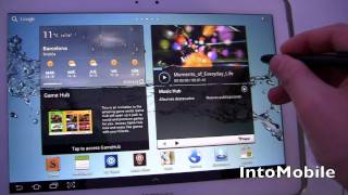 Samsung Galaxy Note 10.1 at Mobile World Congress 2012