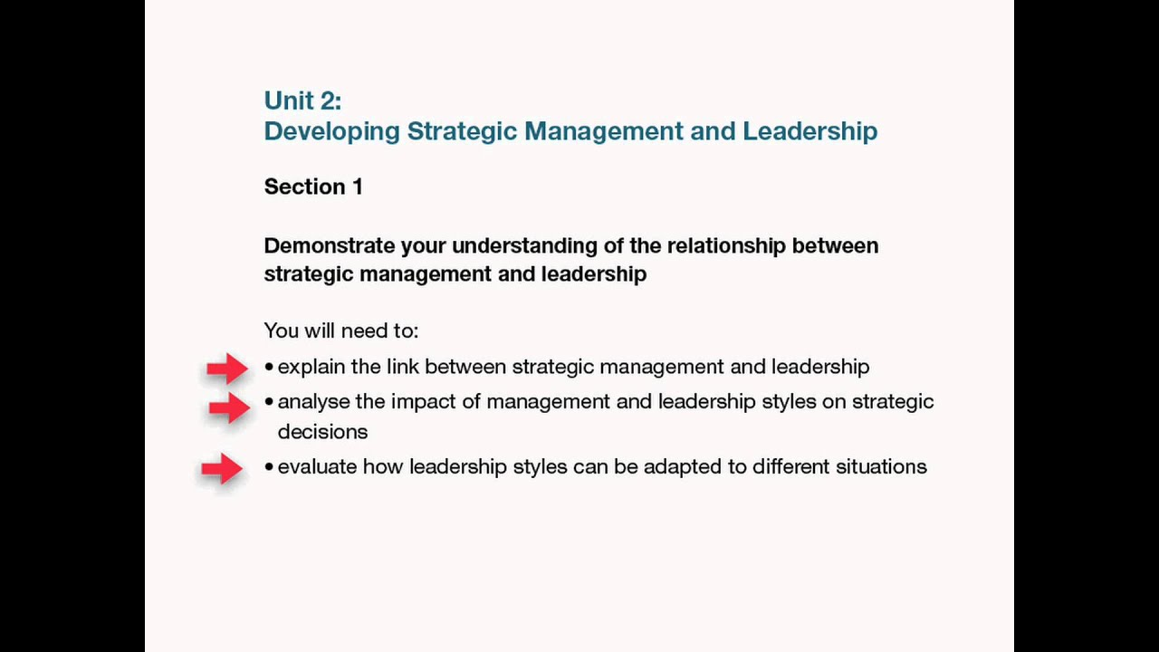 nalyse the impact of management and leadership styles on strategic decisions Leadership styles and and also shows a degree of impact for each stakeholder such an analysis can be below is a modern model for management and leadership in.