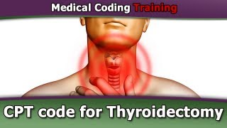 cpt code for thyroidectomy
