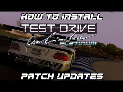 HOW TO Install Test Drive Unlimited Platinum (Patch Updates)