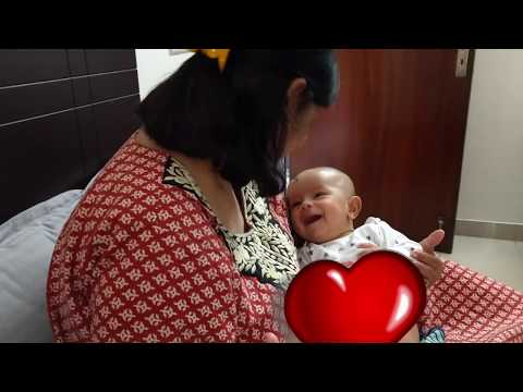 kabir-laughing-out-loud-with-nani-|-at-4-months