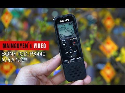 Khui Hộp Máy Ghi âm Sony ICD-PX440 - Www.mainguyen.vn