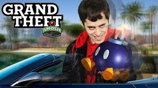 WE BLOW OURSELVES UP (Grand Theft Smosh) thumbnail