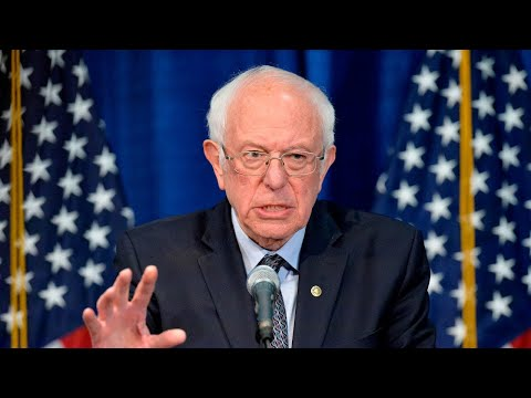 Watch live: Bernie Sanders delivers remarks on coronavirus