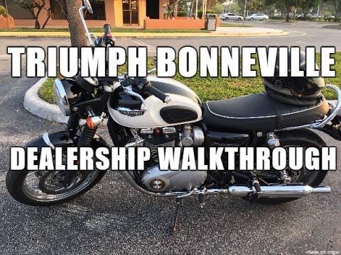 Triumph Bonneville T120 Dealership Post-sale Walkthrough / Walkaround