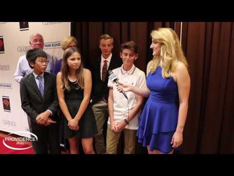 Winner of the Youth Award- Tevis Junior High School