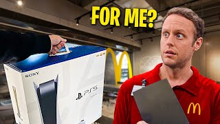 Gifting GameStop Employees NEW PS5's!! (EMOTIONAL)