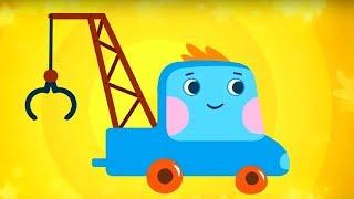 Развивающий мультфильм - Грузовичок Пик - Куда делась речка + Футболисты - про машинки