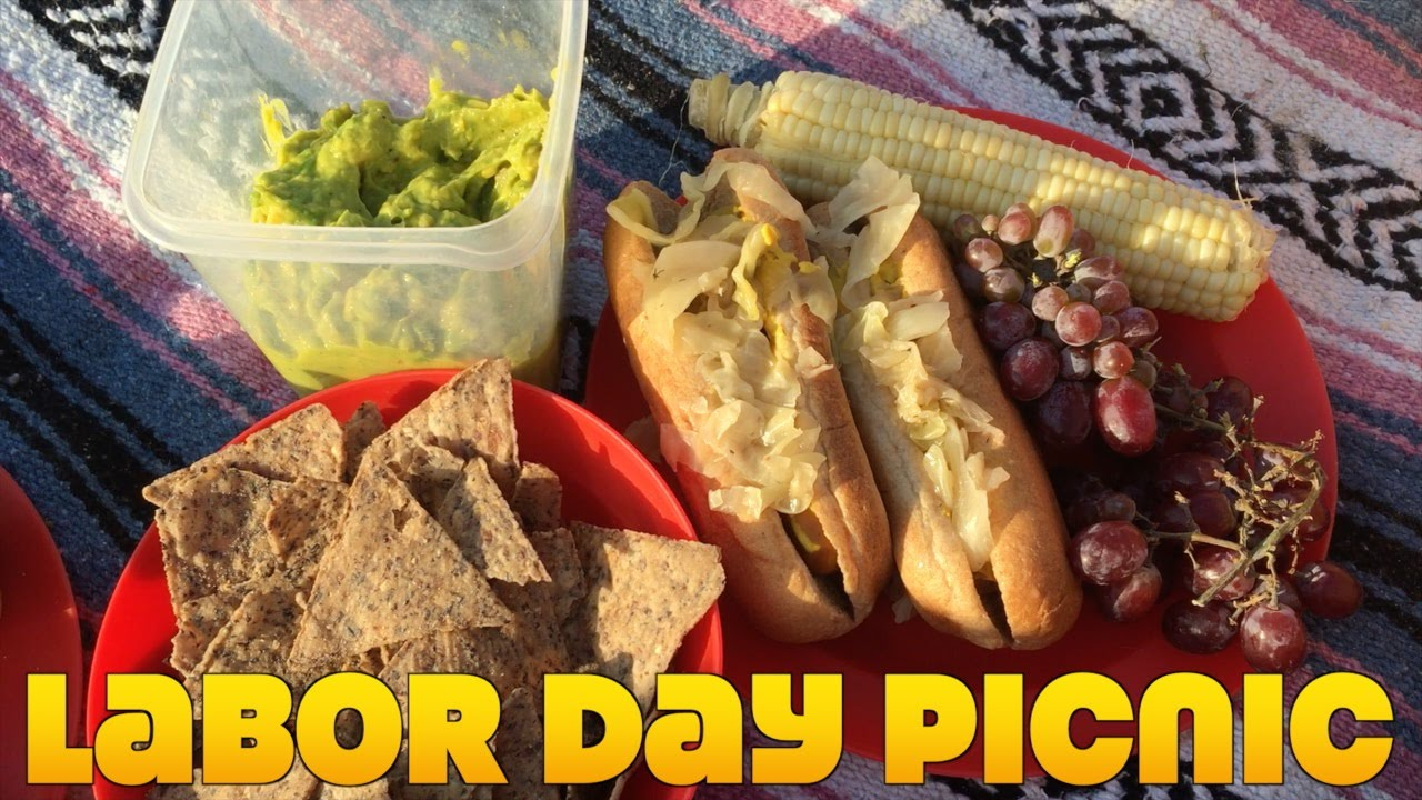 Our Labor Day Beach Picnic & Vegan Donuts