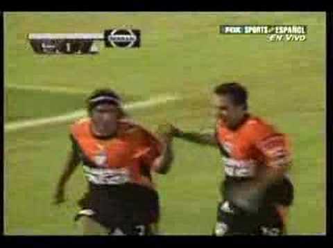 Colo Colo 1 - 2 Pachuca campeon de la Copa Sudamericana 2006