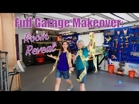 Room Reveal: Garage Makeover Tour