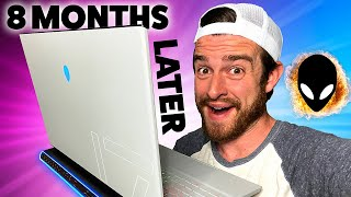 🔥👽Alienware m17 R3 Gaming Laptop Review 8 Months Later | The BEST Gaming Laptop?