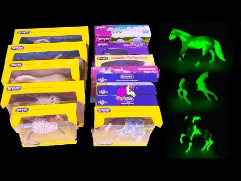 Glow In The Dark? Coolest Horses Ever ! Breyer 2018 Horse Haul Video