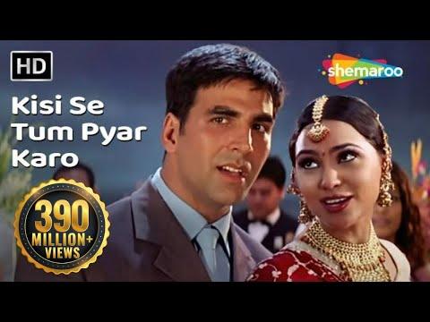 Kisi Se Tum Pyar Karo | Andaaz Songs |Akshay Kumar | Lara Dutta |Johny Lever |Aman Verma| Gold Songs