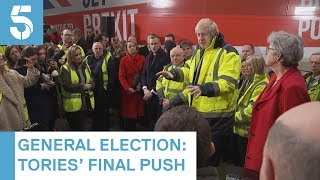 General Election 2019: Tories target Labour heartlands with three days to go | 5 News