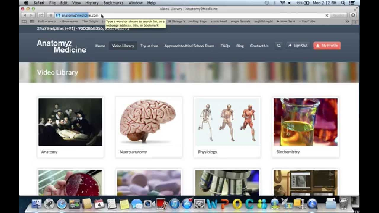 Anatomy2medicine.com 1200 hours Medical Video Lectures on 3000 ...