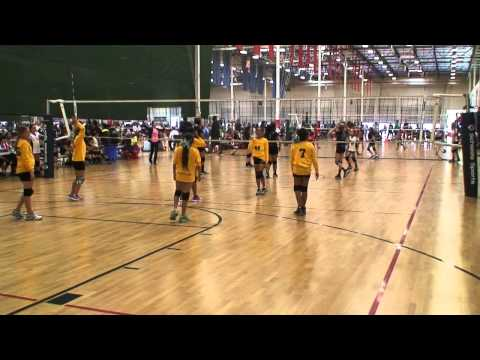 Offshore Volleyball 12-2 vs Chino 12 (Match1) 3/22/15 (L)