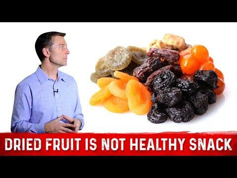 Dried Fruit is NOT a Healthy Snack Food: Dr.Berg On Sugar In Fruits