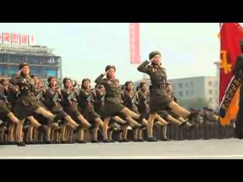 KDHC(Kuzey Kore) Askeri Geçit Töreni - DPRK(North Korea) Military Parade