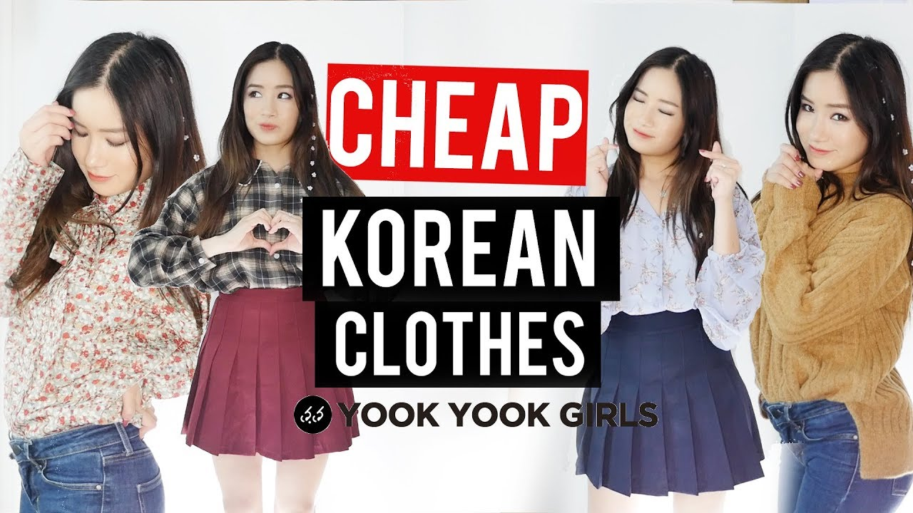 Try-On Haul: Cheap Korean Clothing from 66GIRLS