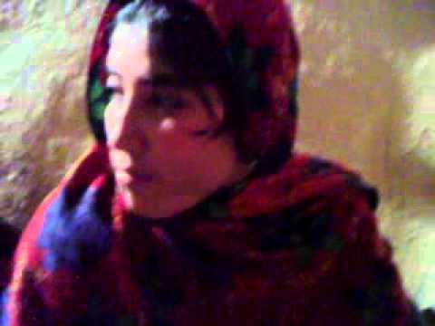 Kohistan -Palas valley 4 girls & 2boys in a dance programme.EXT