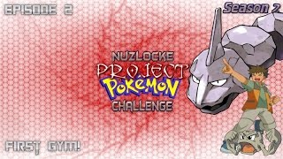 "Roblox Project Pokemon Nuzlocke Challenge - S2 #2 ""First Gym!"" - Live Commentary"