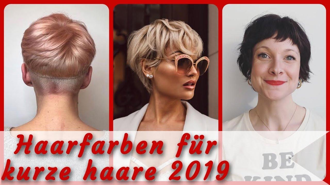 20 Frisurideen Fur Haarfarben Fur Kurze Haare 2019
