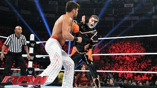 Fandango vs. Stardust: Raw, April 13, 2015