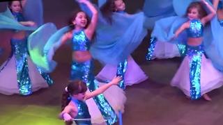 Студия Рондо 'Sea Tales' ☀ Show Bellydance FINAL Formation ☀ Ukraine Oryantal Dans Championship