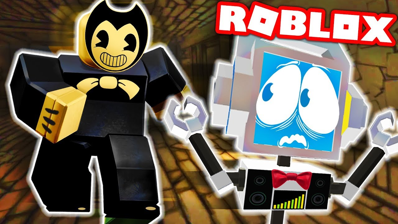 bendy and the ink machine in roblox full game