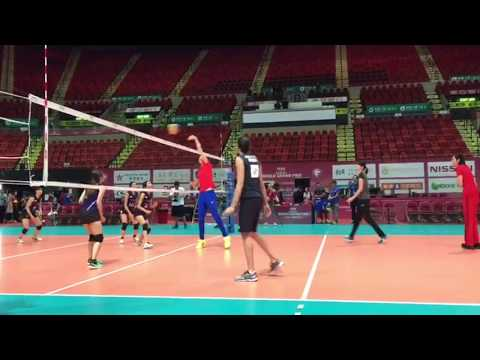 Exhibition Match: Four national team captains vs Hong Kong Airline women's volleyball team