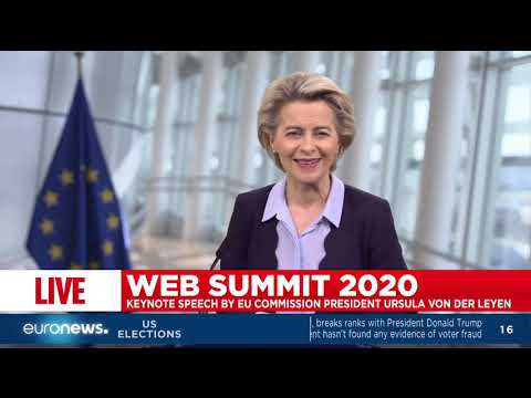 EU Commission President Ursula Von der Leyen delivers speech on her vision for Europe