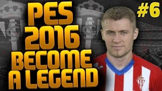PES 2016 Become a Legend - BACK WITH A BANG!! AMAZING GOAL & WINNING STREAK? #6