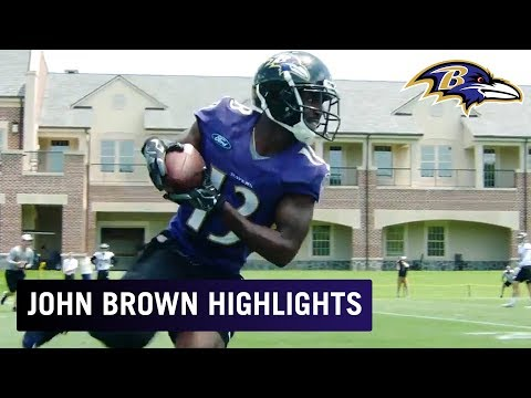 Where There's Smoke, There's 🔥 | John Brown OTA Highlights | Baltimore Ravens