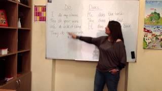 курсы английского киев Урок №9. Глагол
