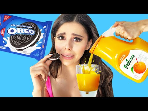 I tried WEIRD FOOD combinations that people love * Eating GROSS DIY Food *
