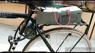 how to make electric bike at home part-1||Creative Science