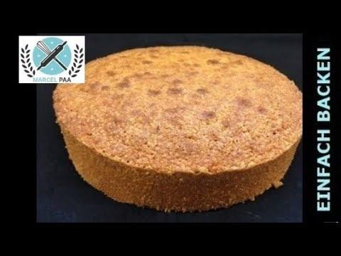 Perfekte Vanille Tortenboden Ruhrteig Fur 3d Torten Youtube