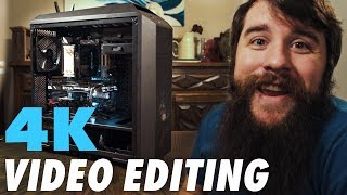 $3000 4K Video Editing PC for Adobe Premiere Pro | Complete Parts List