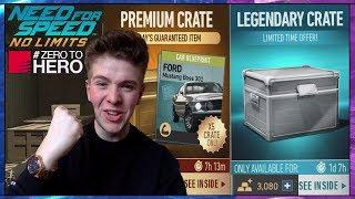 Need For Speed NL ZERO TO HERO SPEEDHUNTERS LEGENDARY & NEW EVENT PREMIUM CRATES 3000 GOLD OPENING!