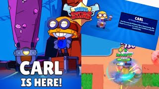 NEW BRAWLER CARL + Opening! | Tips and Tricks | Brawl Stars