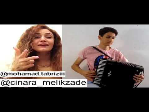 Tut Agaci 1.2 - Cinare Melikzade / Mohamad tabrizi -Qarmon-Accordion 2017