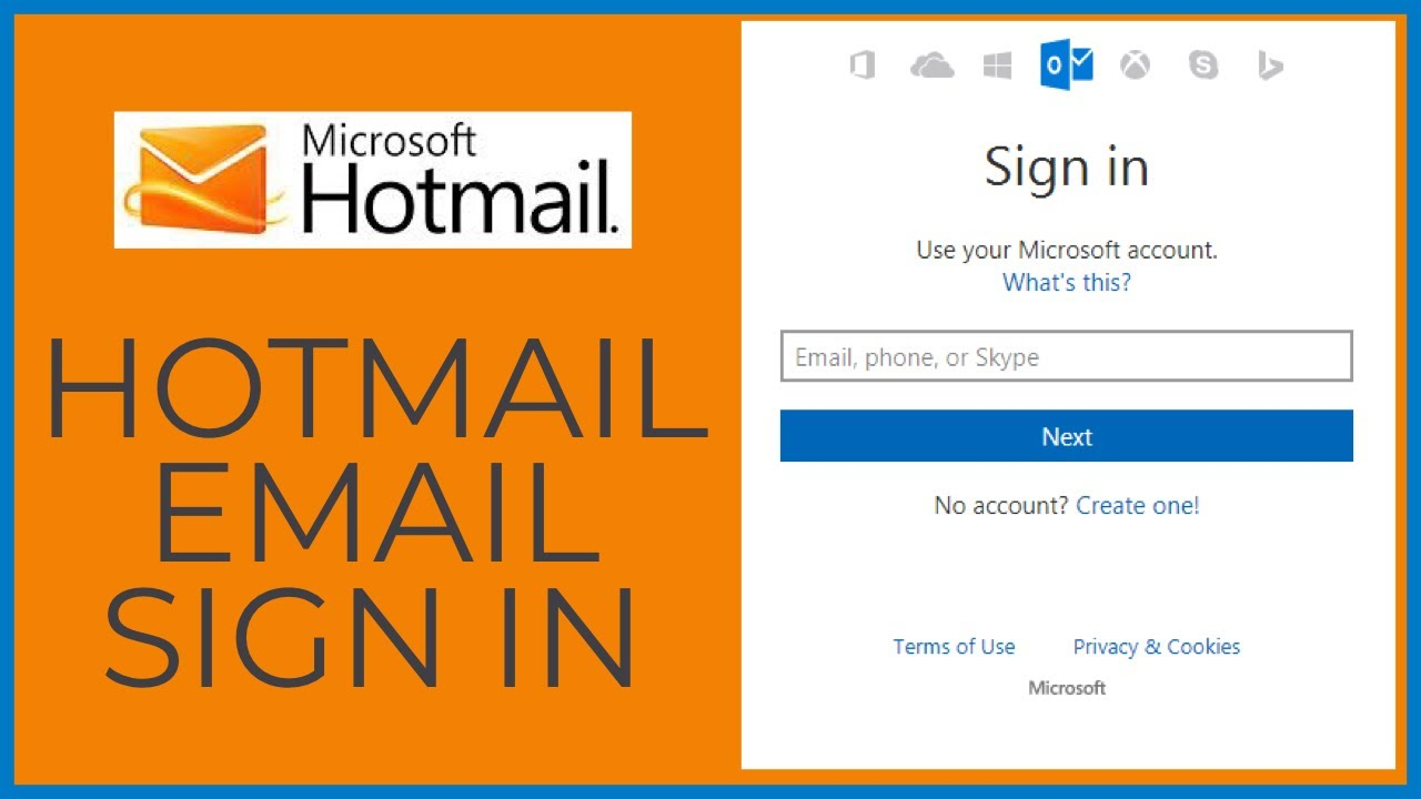 Sign mobile in com hotmail www Microsoft Outlook