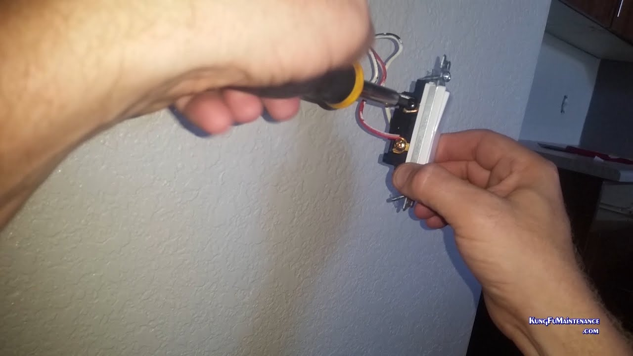 Easy Way To Change Toggle Three Way Light Switches To Rockers When ...