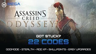 ASSASSIN'S CREED ODYSSEY CHEATS: Godmode, Skillpoints, Adrenaline, ...| Trainer by MegaDev