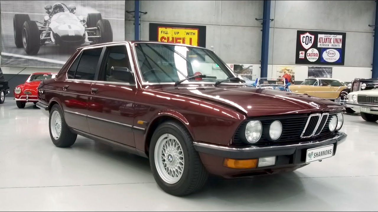 1985 BMW 528i E28 Saloon - 2020 Shannons Winter Timed Online Auction