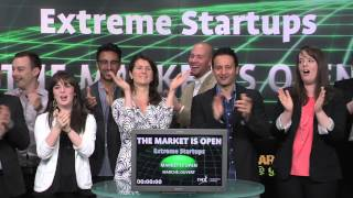 Extreme Startups opens Toronto Stock Exchange, June 4, 2014
