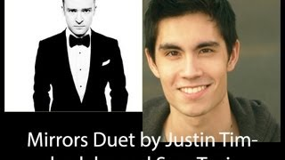 Gambar cover Mirrors By Justin Timberlake duet with Sam Tsui
