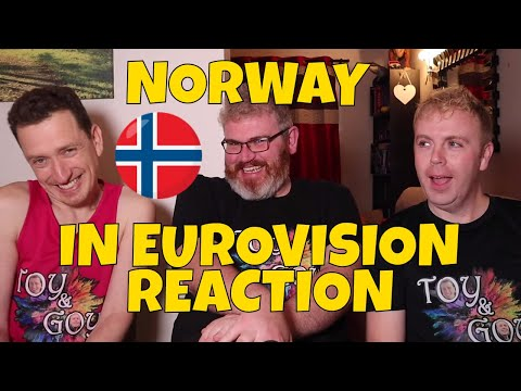 NORWAY IN EUROVISION - REACTION - ALL SONGS 1960-2020